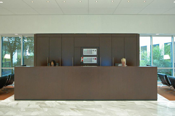CED Holding BV - entree/receptie - Capelle aan den IJssel | 2008
